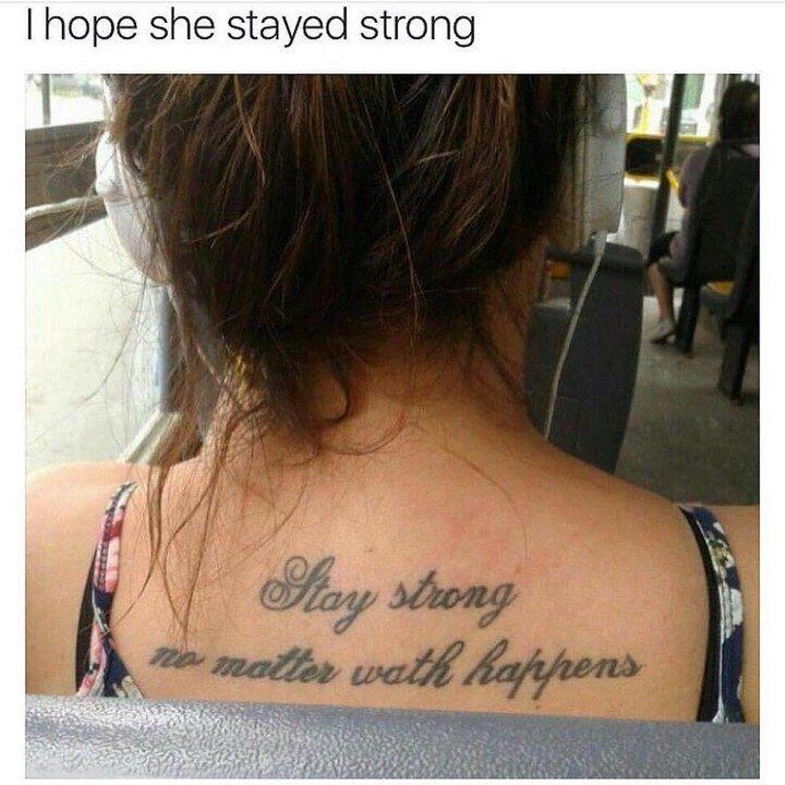 25 Funny Tattoo Fails - Waht just happened?