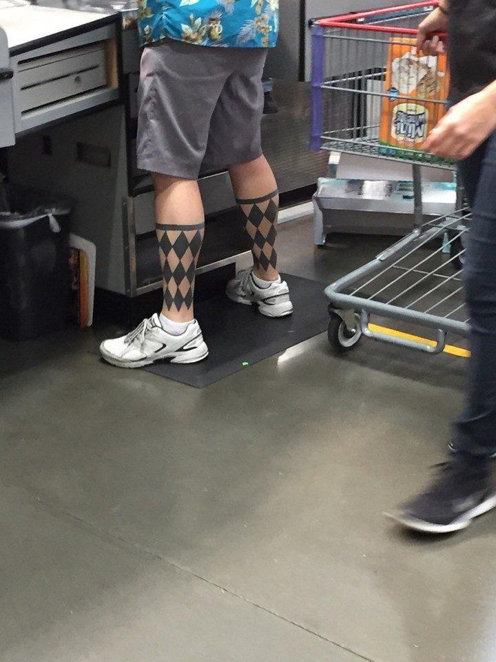 25 Funny Tattoo Fails - Nothing like a shard dressed man.