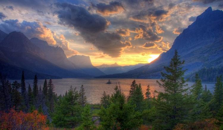 27 Beautiful Sunsets - Missoula, Montana, USA.