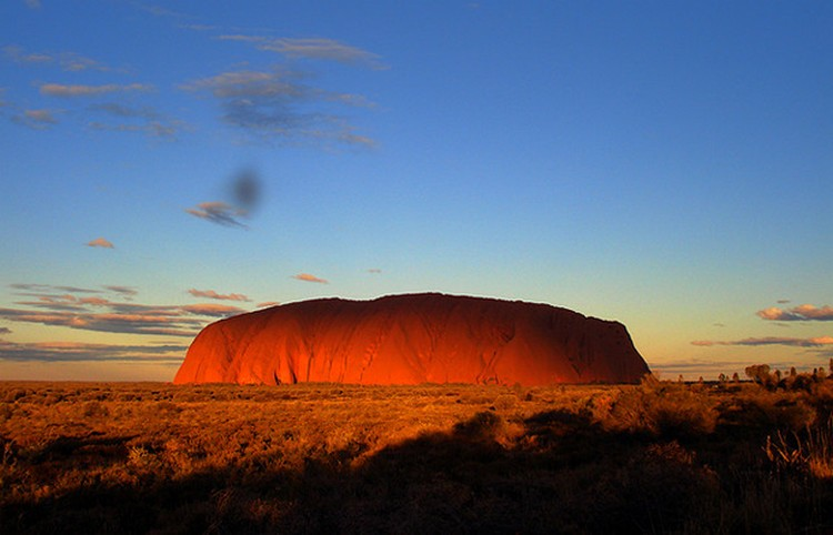27 Beautiful Sunsets - Uluru, Australia.