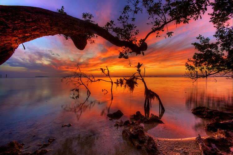 27 Beautiful Sunsets - Florida Keys, USA.