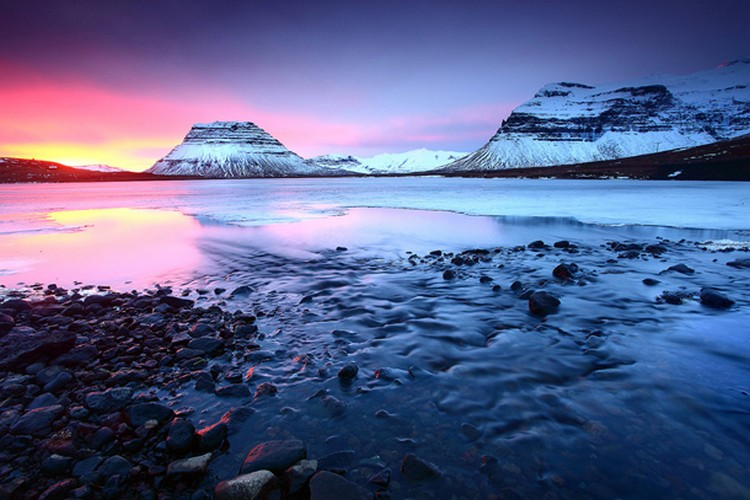27 Beautiful Sunsets - Grundarfjordur, Iceland.
