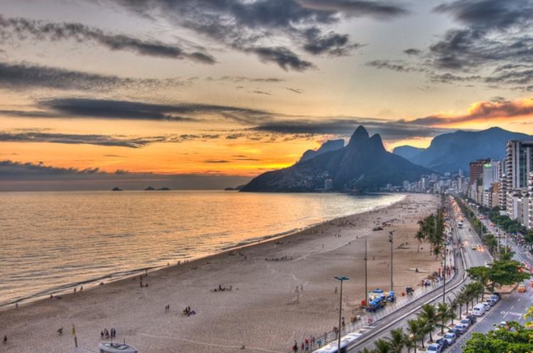 27 Beautiful Sunsets - Ipanema Beach, Riode Janeiro, Brazil.