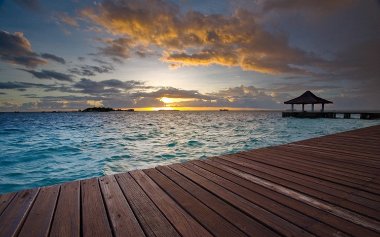 27 Beautiful Sunsets - The Beautiful Maldives.