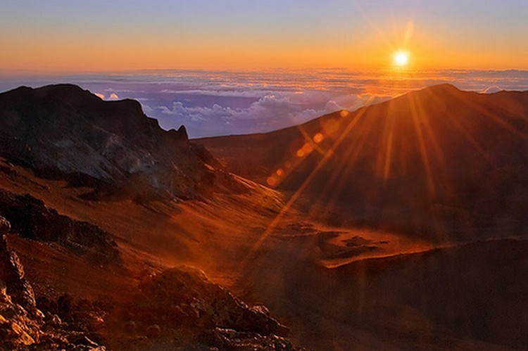 27 Beautiful Sunsets - Haleakala, Hawaii.