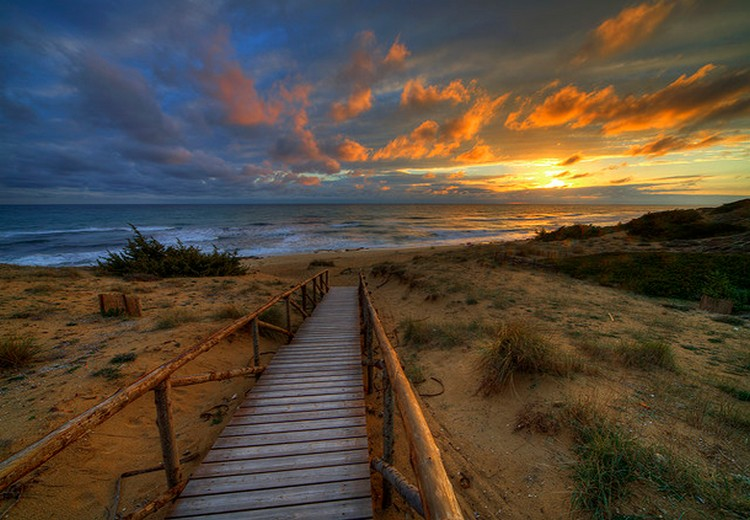 27 Beautiful Sunsets - Puglia, Italy.