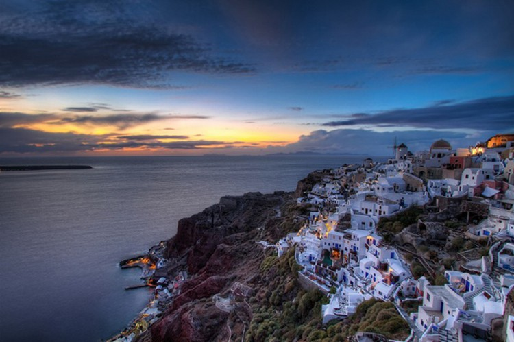 27 Beautiful Sunsets - Santorini, Greece.