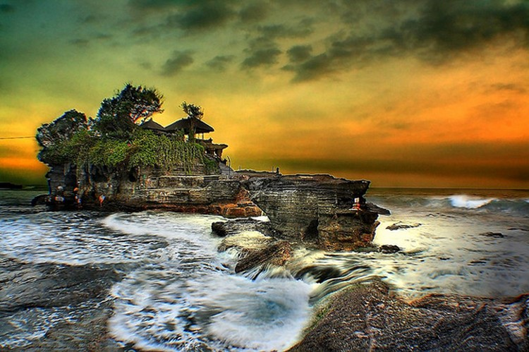 27 Beautiful Sunsets - Tanah Lot, Bali.