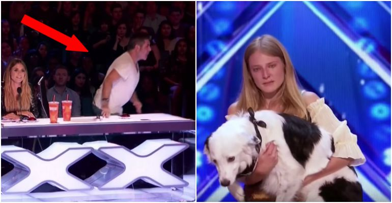 Sara and Hero wows Simon Cowell at AGT 2017 audition.