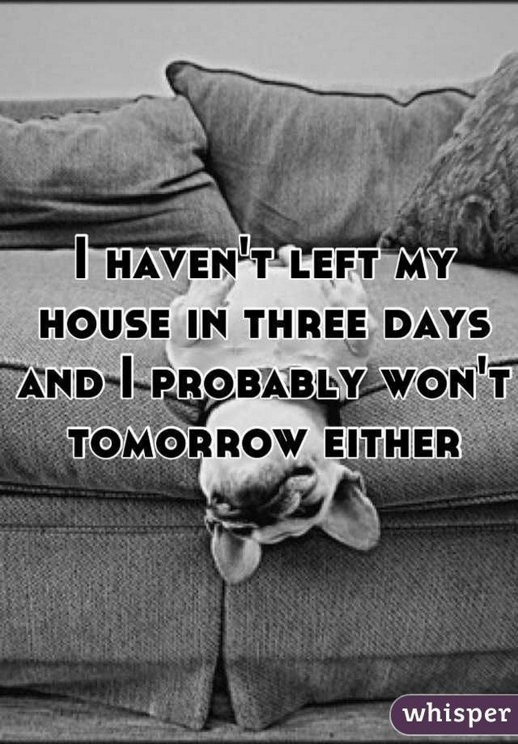"17 People Who Have Life All Figured Out - ""I haven't left my house in three days and I probably won't tomorrow either."""