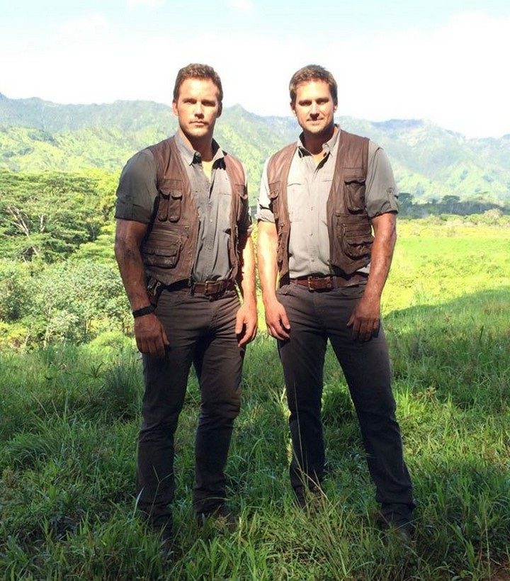19 Famous Actors and Their Stunt Doubles - Chris Pratt.