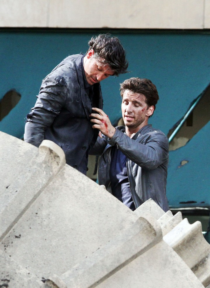 19 Famous Actors and Their Stunt Doubles - Patrick Dempsey.