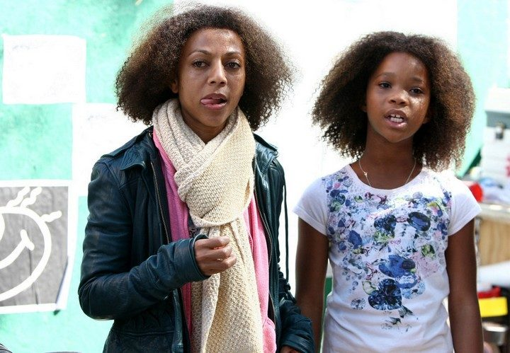 19 Famous Actors and Their Stunt Doubles - Quvenzhané Wallis.