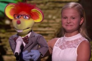 Darci Lynne Amazes AGT Judges with Jackson 5's Who's Lovin' You.