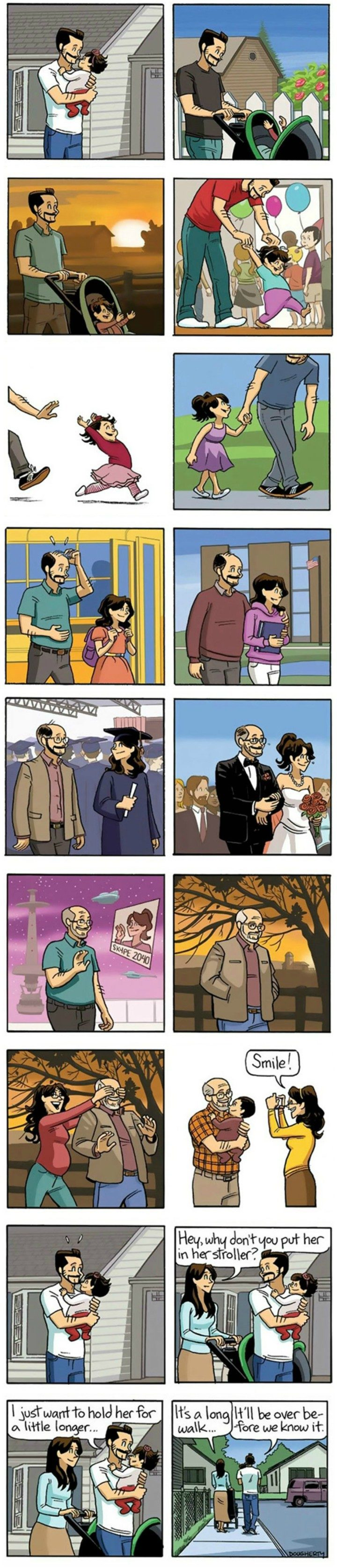 """Beardo Comic Strip Entitled """"The End"""" About Growing Old Will Melt Your Heart"""
