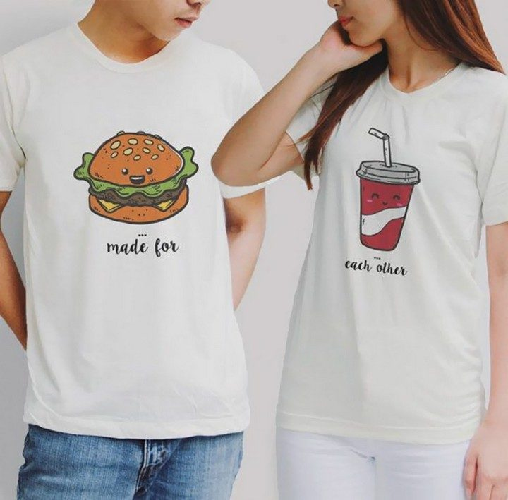 17 Couples T-Shirts - This combo was made for each other.