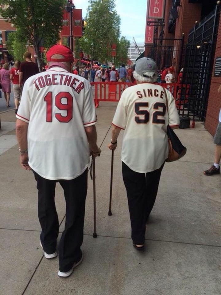 17 Couples T-Shirts - This couple has been together since 1952 and they're adorable!