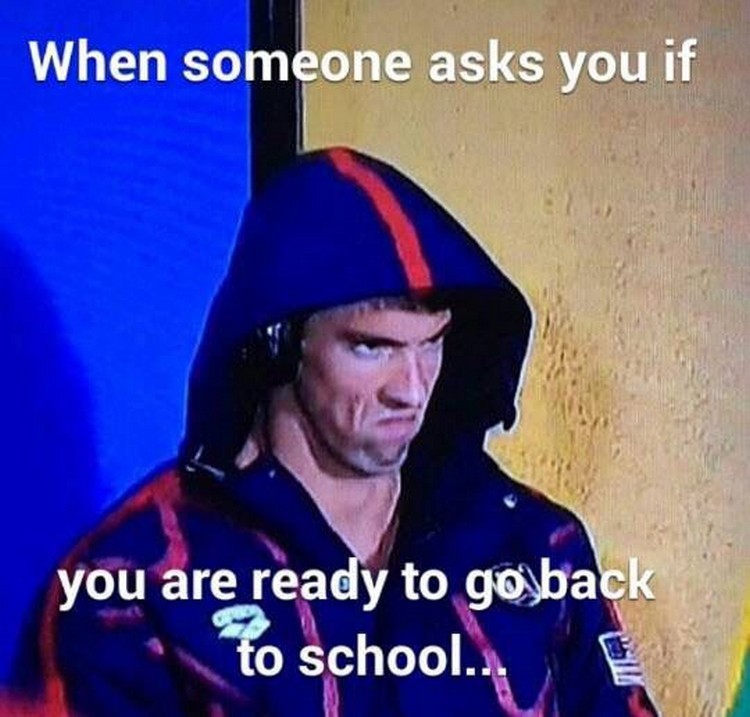 49 Funny School Memes - Even worse when they ask you this in July.