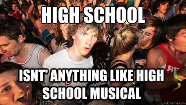 49 Funny School Memes - Nope. Nothing like High School Musical!