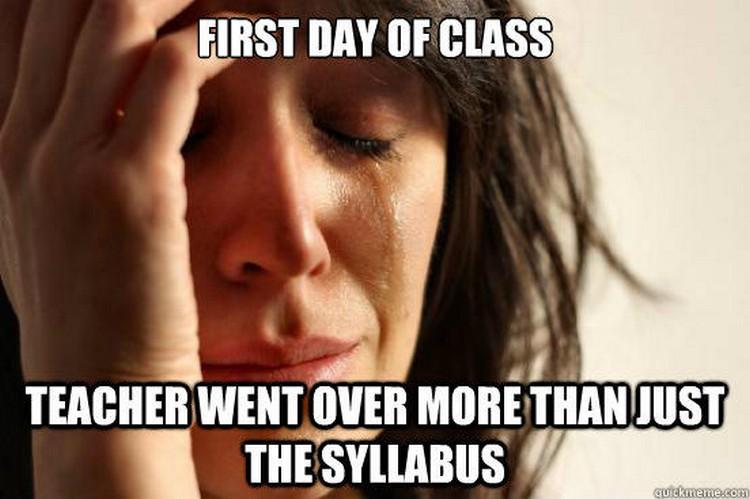 49 Funny School Memes - So many tears...