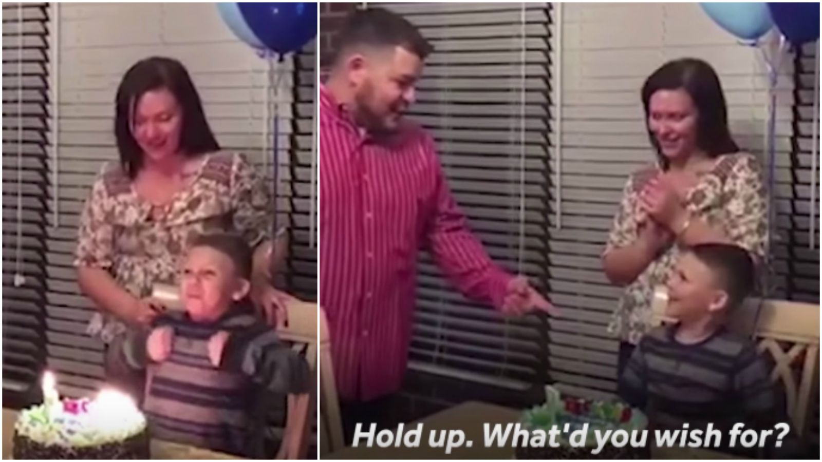 Boy's Birthday Wish For His Parents to Marry Comes True.
