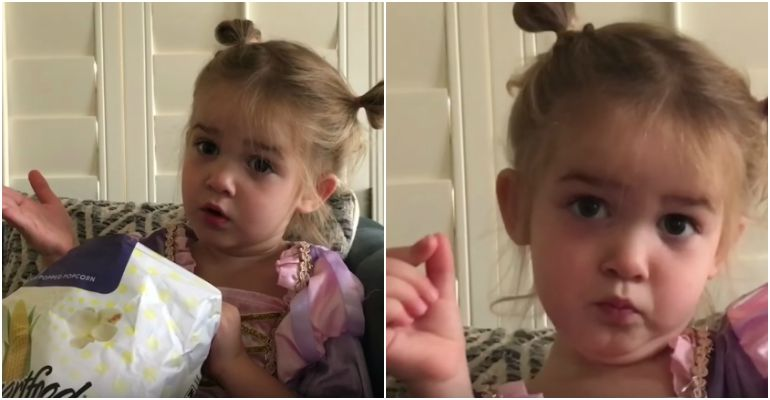 Mila Explains Her First Day of Preschool from a 2-Year-Old's Point of View.
