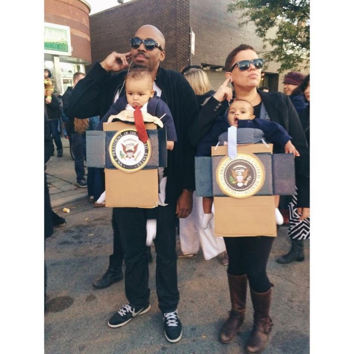 17 Funny Halloween Costumes for Babies - Presidential Babies costumes.