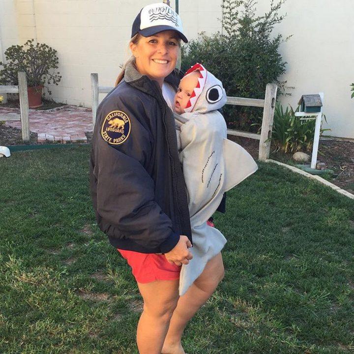 17 Funny Halloween Costumes for Babies - Sharknado costume.