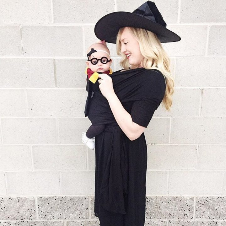 17 Funny Halloween Costumes for Babies - Harry Potter costume.