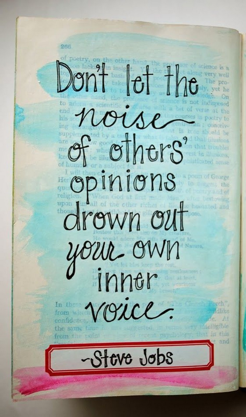 "19 Best Steve Jobs Quotes - ""Don't let the noise of others' opinions drown out your own inner voice."""