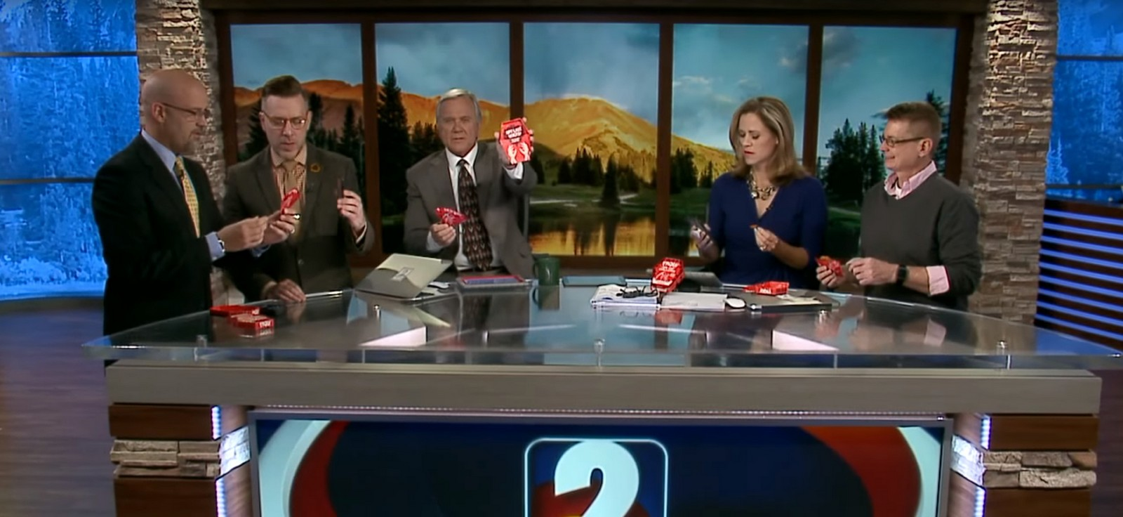 The Channel 2 Denver morning news team decided to try the world's hottest chip, The California Reaper Madness chip.