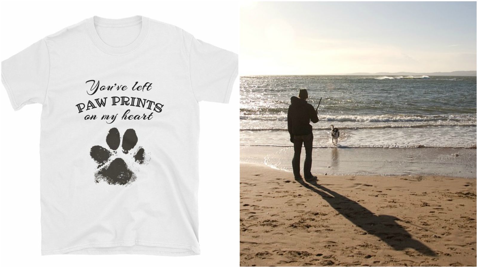 Pet memorial t-shirts are a great way to honor the love you've had for your pet and best friend.
