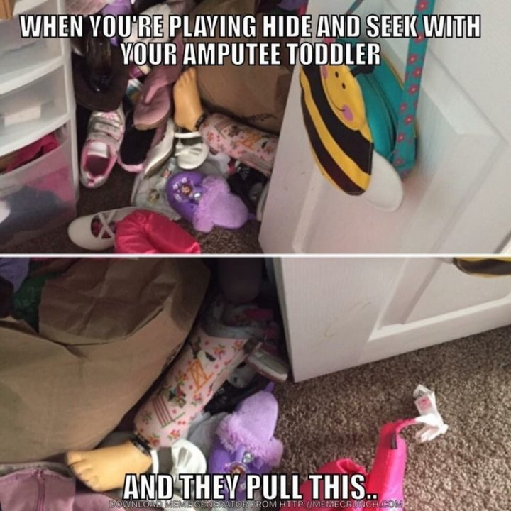 10 Funny Pictures - Hide and seek skill level: 9000.