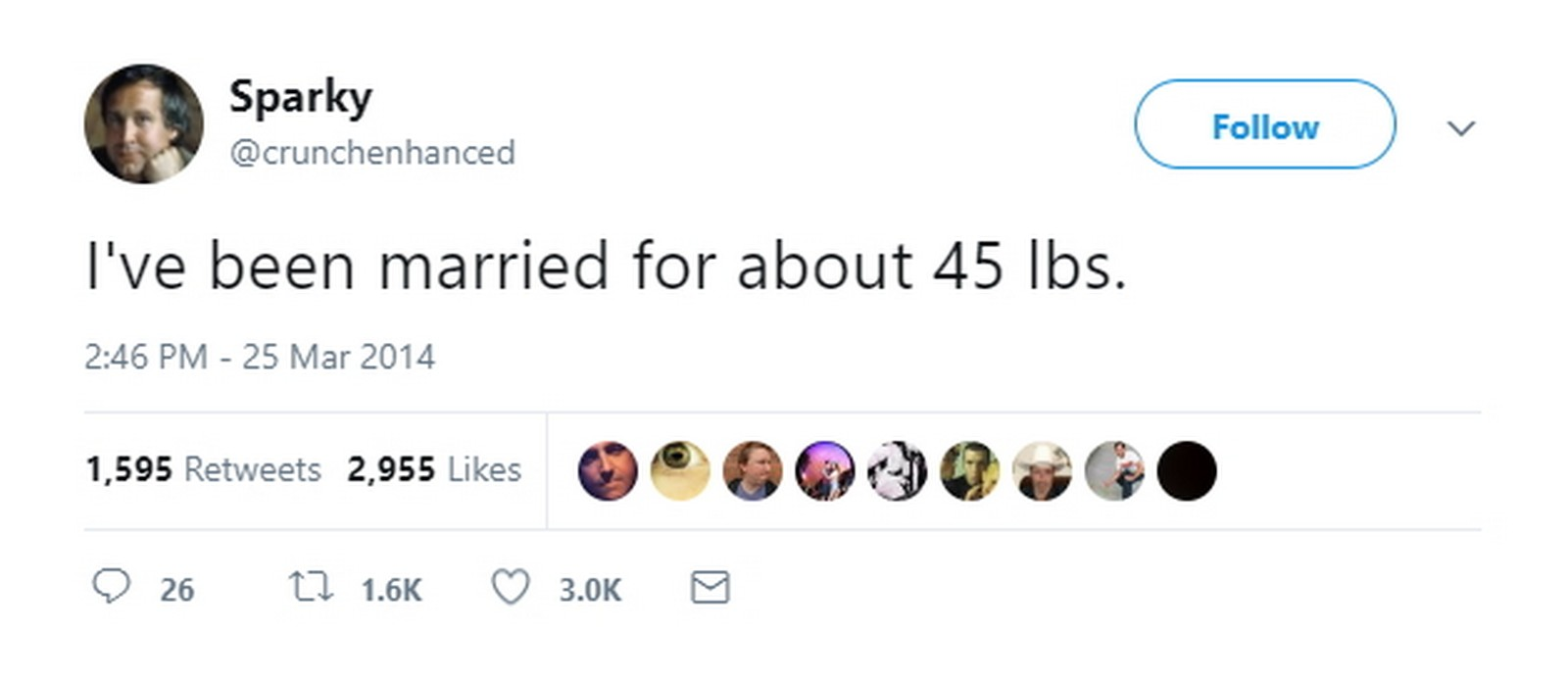 "27 Best Marriage Tweets - Gives a whole new meaning to the phrase ""letting yourself go."""