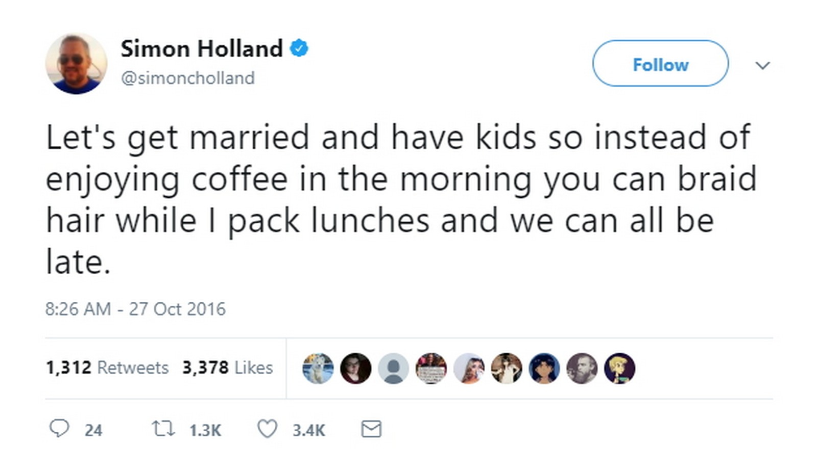 27 Best Marriage Tweets - Married life with children summed up in one tweet.