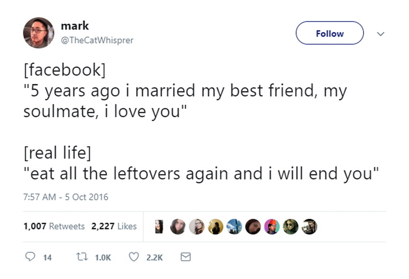 27 Best Marriage Tweets - My pet peeve is people pretending to have the perfect lives on Facebook.