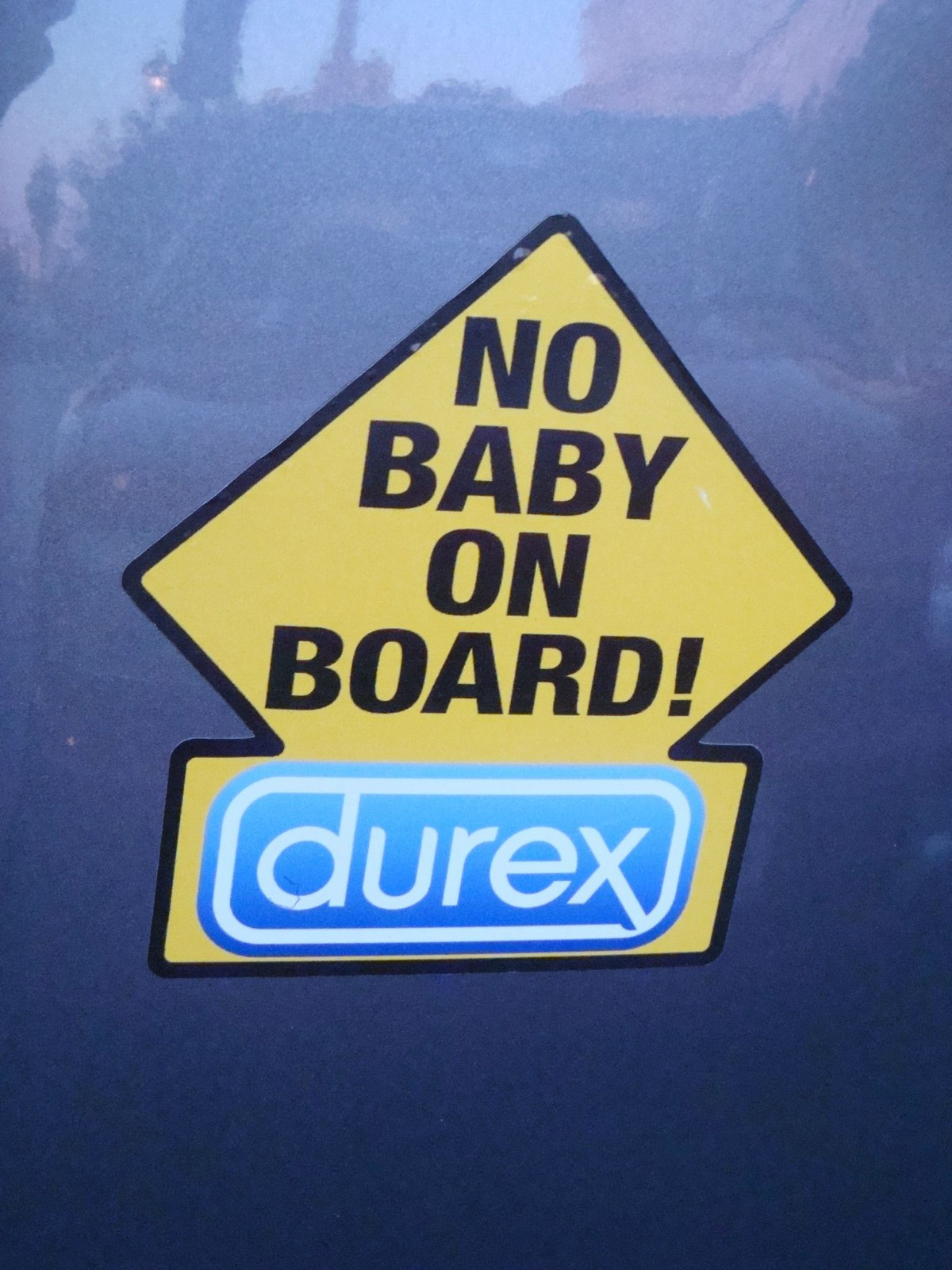 27 Funny Bumper Stickers - That's one way to do it.