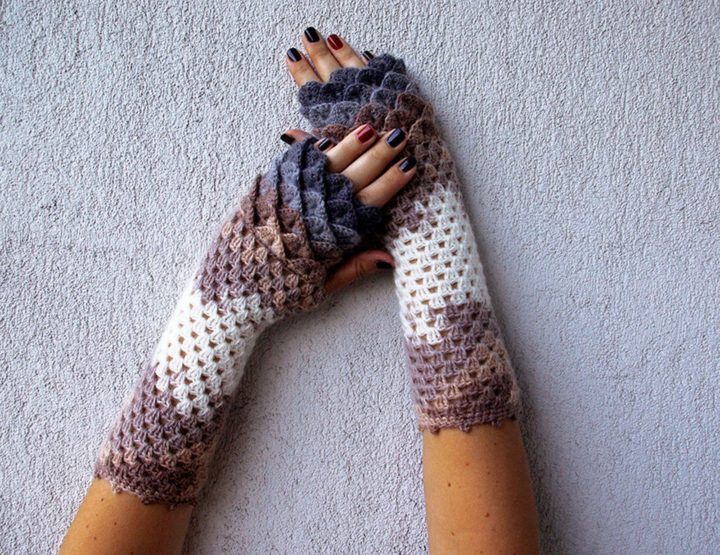They are perfect gloves for fall or early winter.