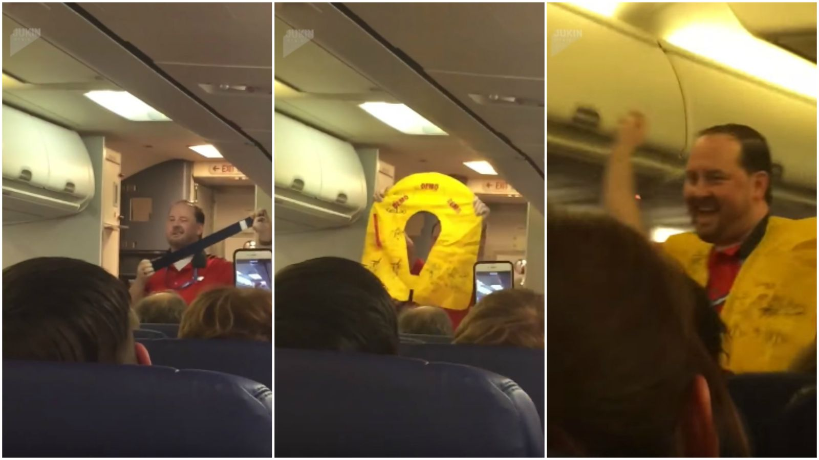 """Funny Southwest Flight Attendant Gives """"Sexy"""" Safety Briefing"""