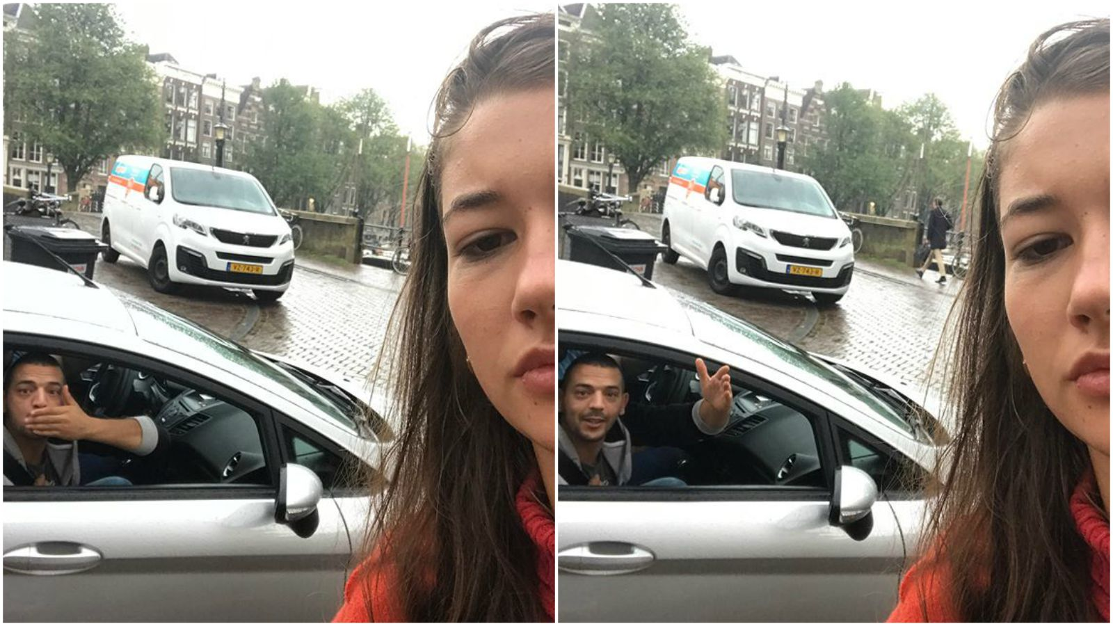 Woman Takes Catcalling Selfies with Her Catcallers and Posts Them to Instagram.