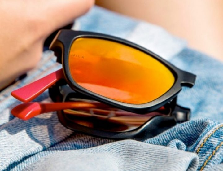 15 New Inventions - Automatic unfolding sunglasses.