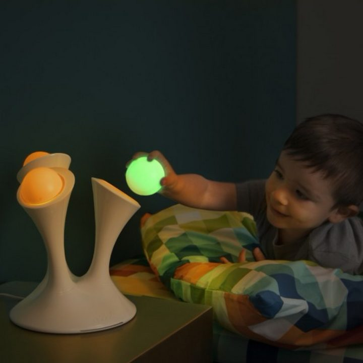 15 New Inventions - Nightlight with portable glowing balls.