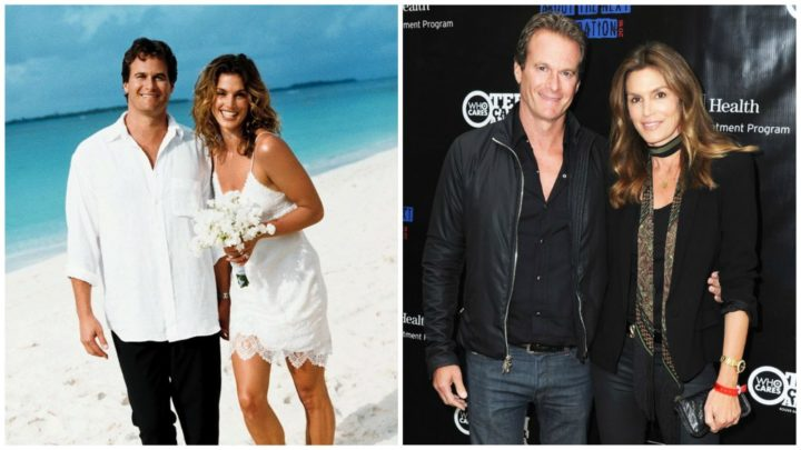 Cindy Crawford and Rande Gerber - Married for 19 years.