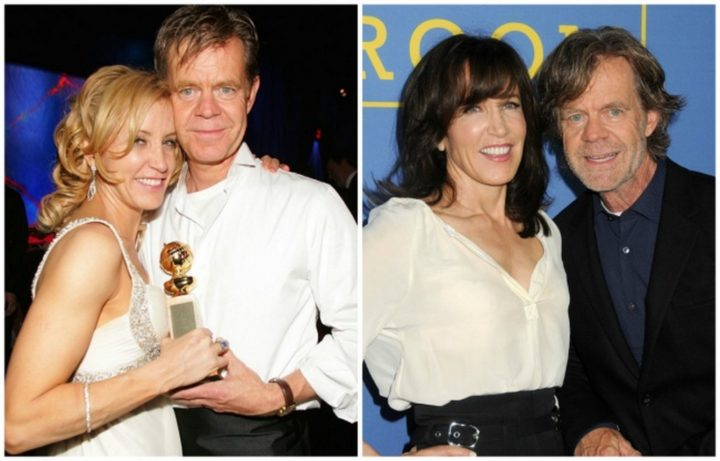 William H. Macy and Felicity Huffman - Married for 20 years.