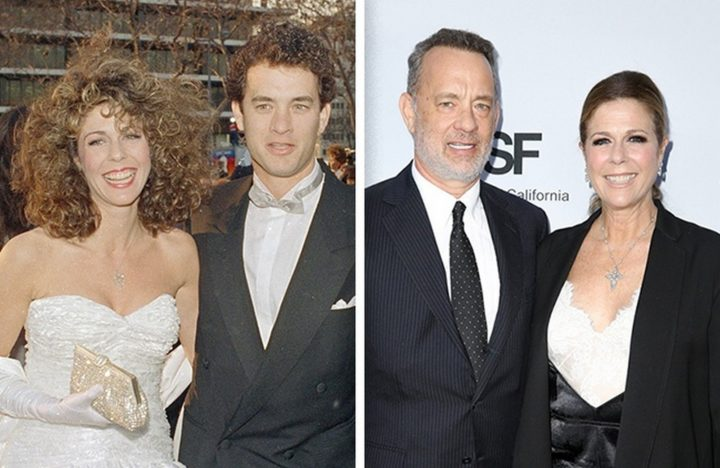 Tom Hanks and Rita Wilson - Married for 29 years.