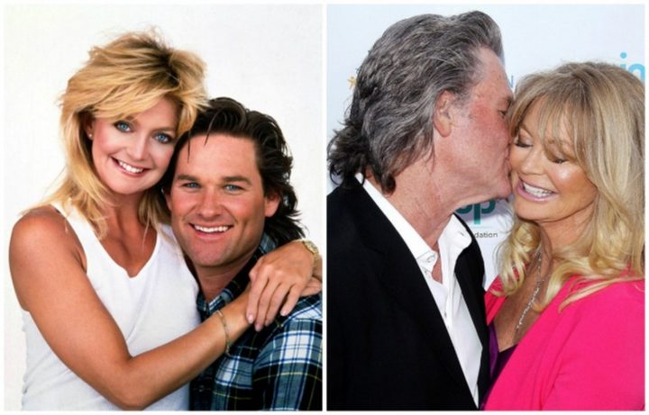 Kurt Russell and Goldie Hawn - Together for 34 years.