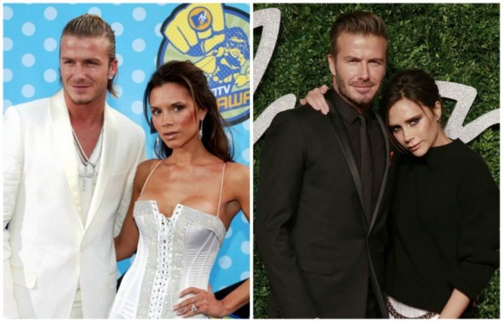 David and Victoria Beckham - Married for 18 years.