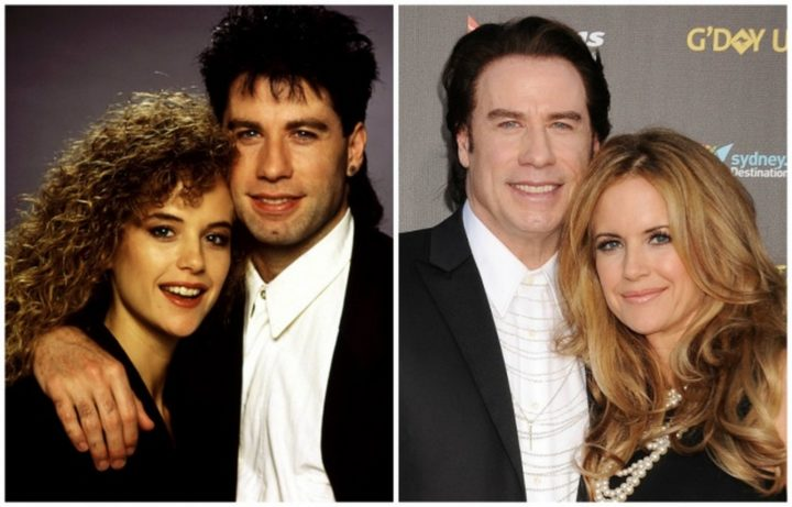John Travolta and Kelly Preston - Married for 26 years.