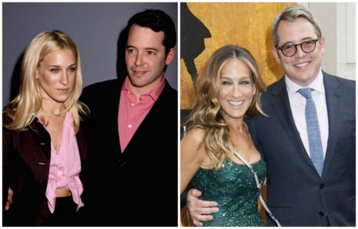Matthew Broderick and Sarah Jessica Parker - Married for 20 years.