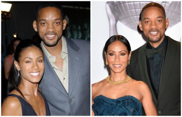 Will Smith and Jada Pinkett Smith - Married for 20 years.
